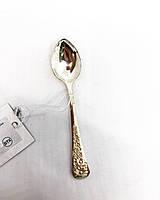 Срібна ложка чайна Брюс з візерунком квіти