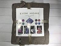 Простынь хлопковая с бахромой Evim home 200х230см