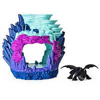 Как приручить дракона 3: игровой набор Логово дракона Беззубика SM66624/2101 Spin Master
