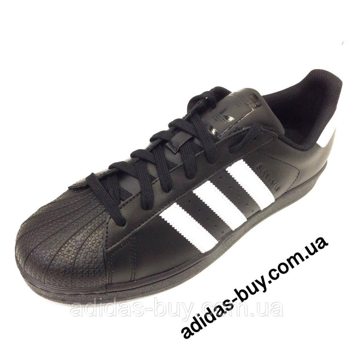 Мужские осенние кожаные кроссовки adidas SUPERSTAR FOUNDATION B27140 оригинальные