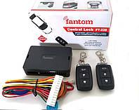 Интерфейс управления центральным замком с дистанционным управлением FANTOM FT-228. Функция открытие багажника!