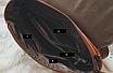 Рюкзак трансформер женский кожзам сумка Cool Коричневый, фото 10