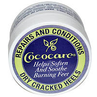 "Бальзам от трещин на пятках Cococare ""Repairs and Conditions Dry Cracked Heels"" увлажняющий с маслом Ши (11 г)"