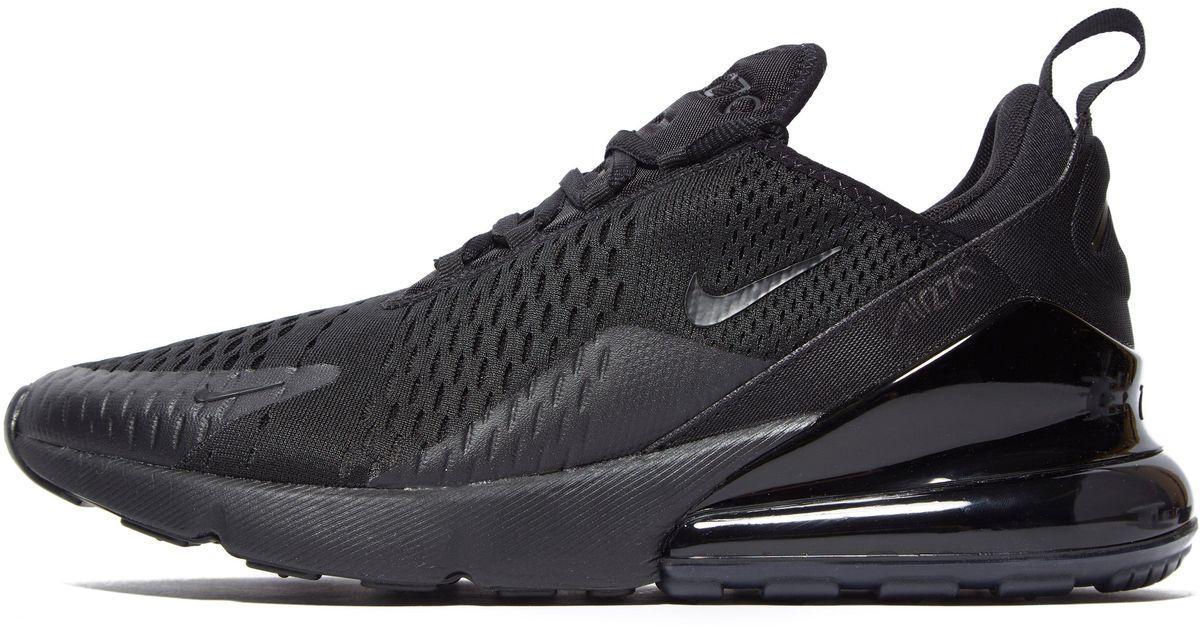45e0cd08 Женские Кроссовки Nike Air Max 270 Black (найк Аир Макс 270, Черные ...