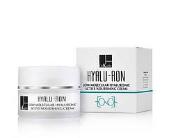 Живильний крем для обличчя з гіалуронової кислотою Hyalu-Ron, 250 мл
