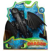 Как приручить дракона 3: коллекционная фигурка дракона Беззубика с механической функцией Spin Master