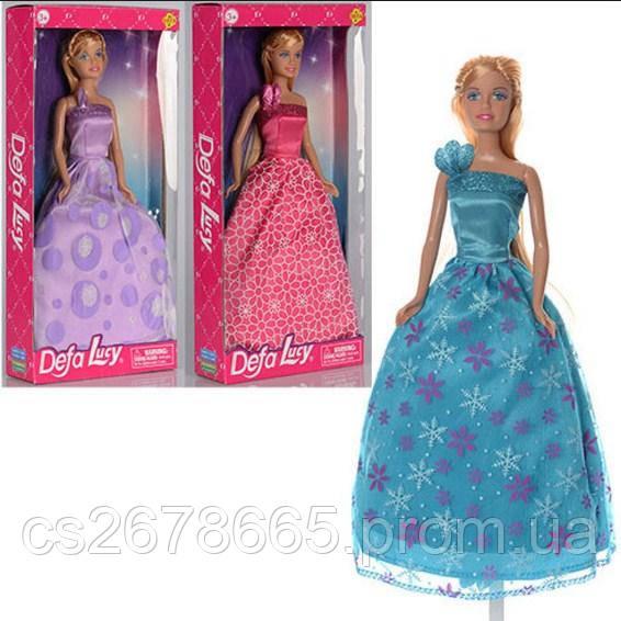 Кукла барби 8308, Defa Lucy в ярком платье в пол