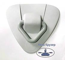 Буксирувальний вузол з кільцем (кільце пластик) для надувних човнів ПВХ - колір сірий