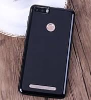 Чехол-бампер силиконовый  Soft-touch для Ergo B501 Maximum Dual Sim / Стекло в наличии Черный (midnight black)