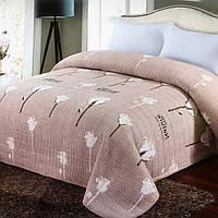 Покрывало двустороннее стеганное Soft Cotton 230х250 Розовый, фото 1