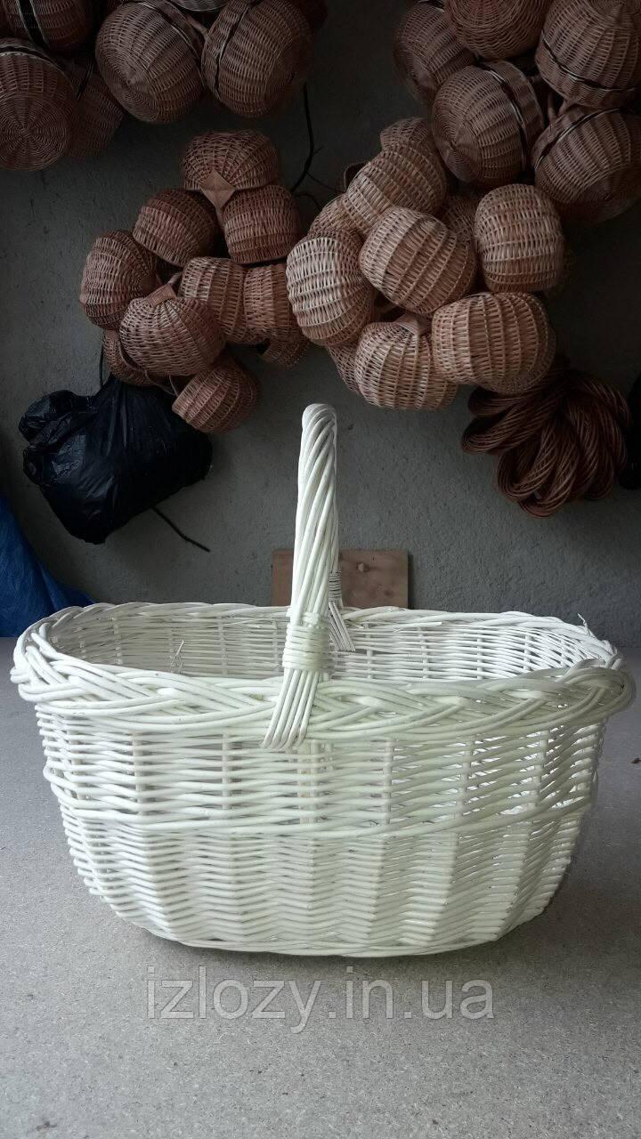 af538547e945d Пасхальная корзина из белой лозы - Плетеные изделия из лозы в Закарпатской  области