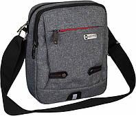 Мужская сумка OPTIMA O97558-02, серый