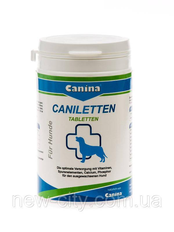 Canina Caniletten 150 таб 300 гр Витаминно-минеральный комплекс для взр. собак