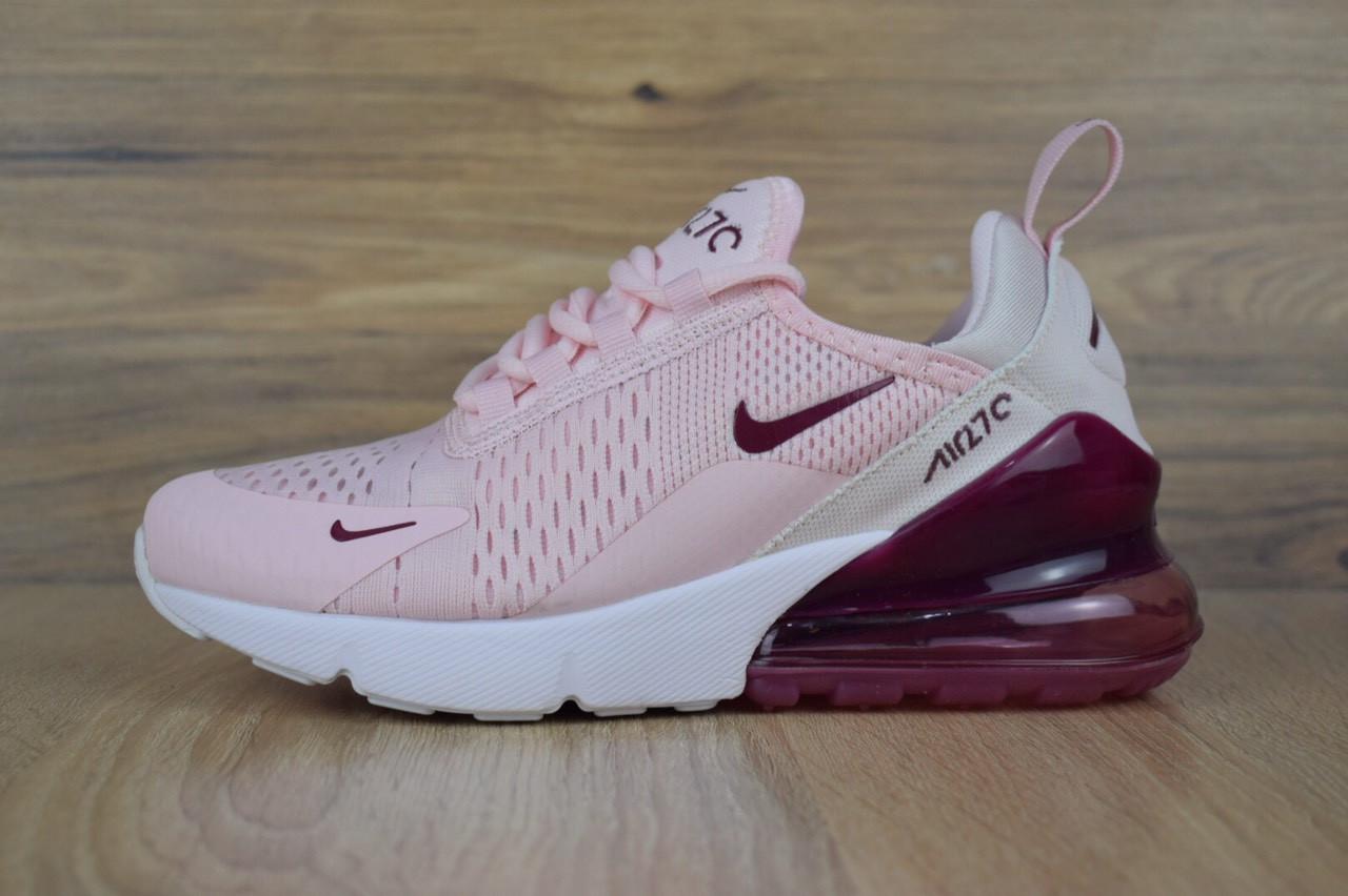 5a005b75881f13 Жіночі кросівки Nike Air Max 270, розові, цена 1 150 грн., купить в ...