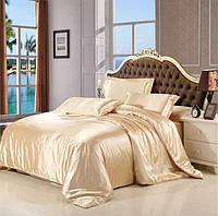 Комплект постельного белья из атласа Золотые пески
