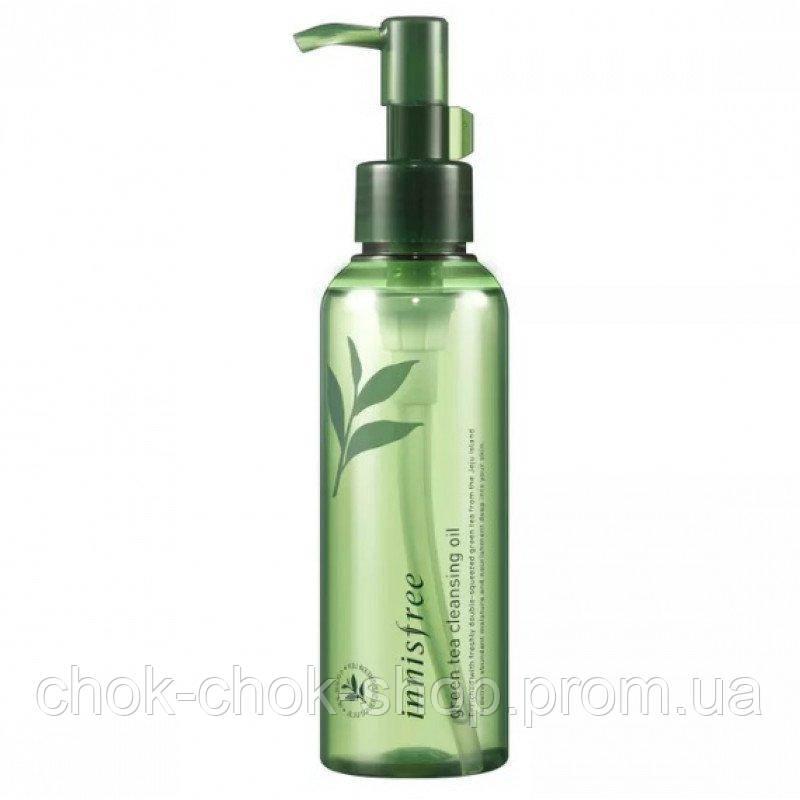 Гидрофильное масло с зеленым чаем Innisfree Green Tea Cleansing Oil