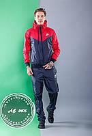 Мужской спортивный костюм Nike весна-осень прогулочный плащевка, красный
