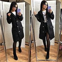 Женское кашемировое пальто, фото 1