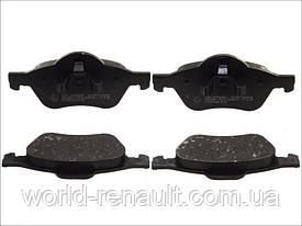 Комплект передних тормозных колодок Рено Лагуна III 1.5dci 8V, 1.6i 16V / HI-Q SP1414
