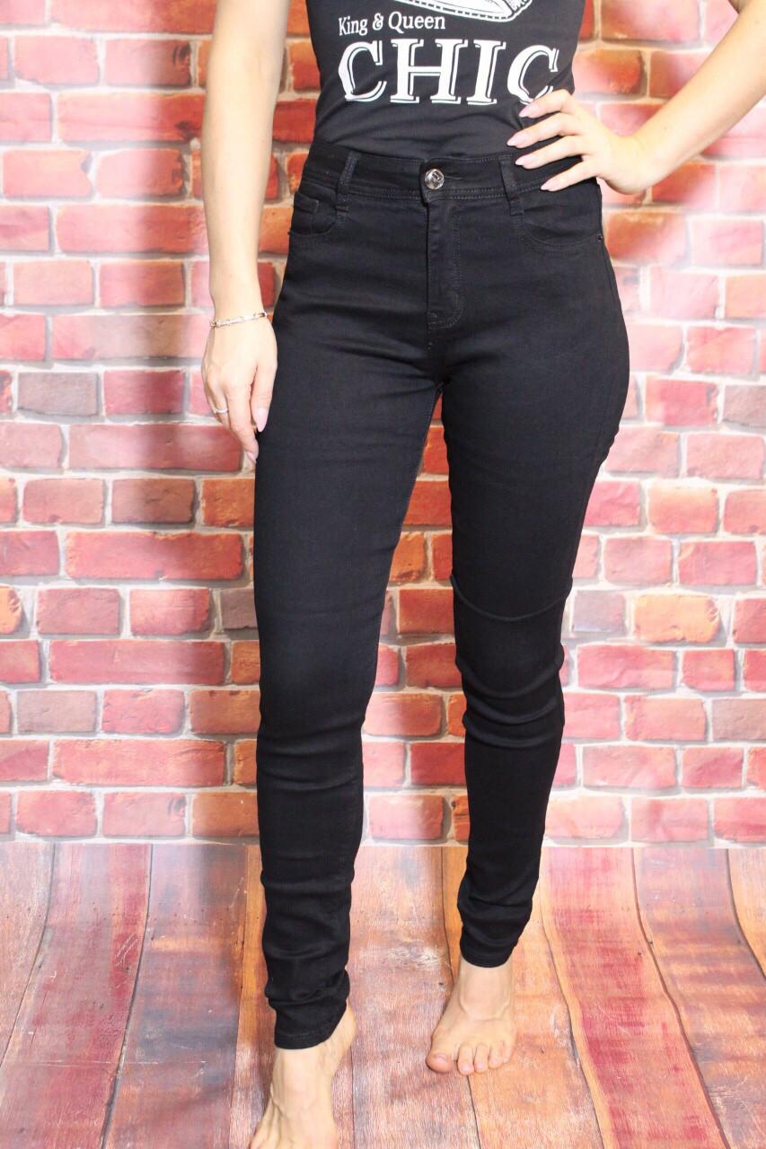 Женские черные  джинсы с высокой посадкой (талией) американка ( код 440) 25-30разм