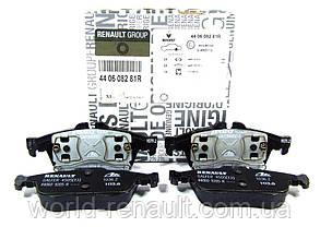 Комплект задних тормозных колодок Рено Лагуна III / Renault ORIGINAL 440608281R