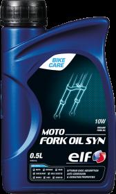 Вилочное масло 10w для мотоцикла ELF MOTO FORK OIL SYN 10W / 0.5литра