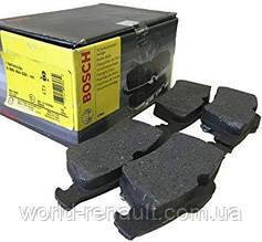 Комплект задних тормозных колодок Рено Лагуна III / BOSCH 0986494032