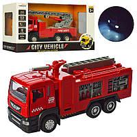 Пожарная машина игрушка 5001-5002  инерционная, Bambi