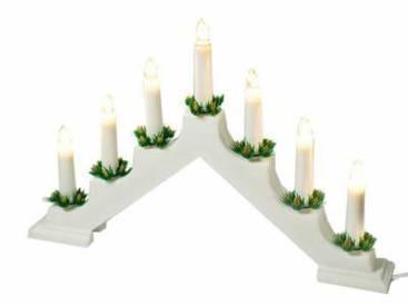"""Новорічний світильник """"Свічки"""" 7 LED"""