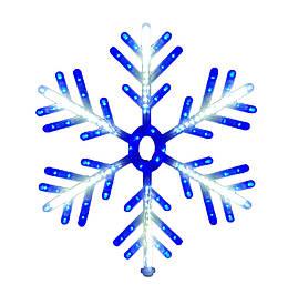 """Новорічна підвіска """"Сніжинка"""" 168 LED SMD, Діаметр 60 см"""
