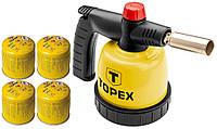 Газовый паяльник TOPEX 44E145