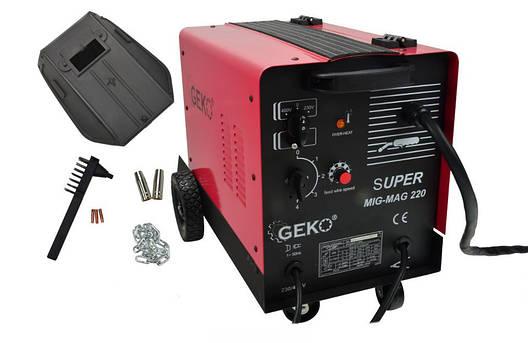 Зварювальний апарат GEKO GEMAG 220 SUPER, фото 2