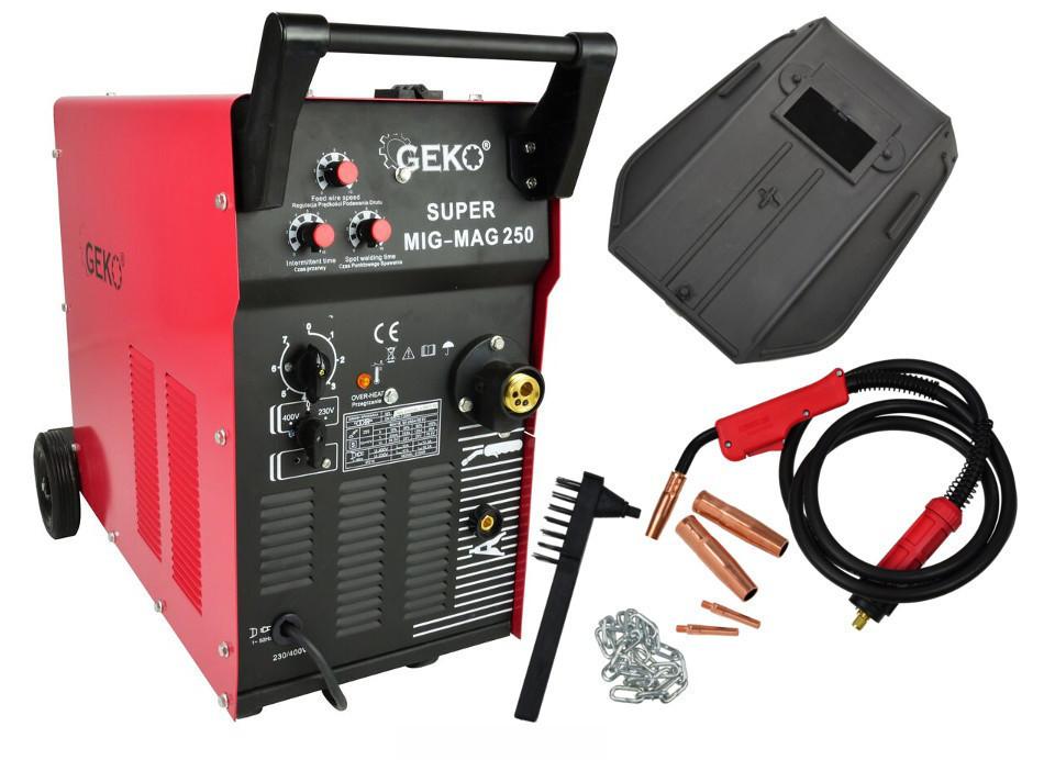 Сварочный аппарат GEKO GEMAG 250 SUPER