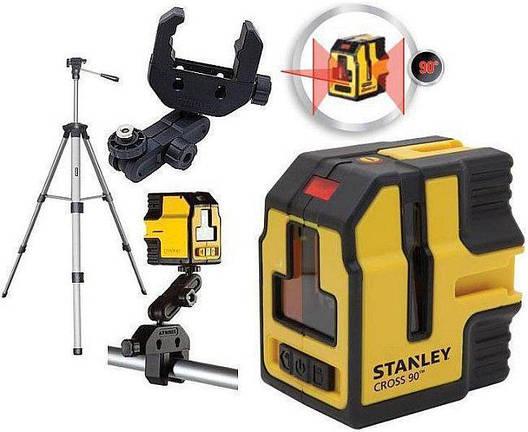 Профессиональный лазер STANLEY CROSS 90, фото 2