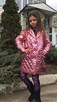 Пальто детское на девочку модное , фото 1