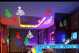 Лазерний проектор з святкової анімації, фото 2