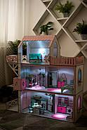 LED-светильник для кукольных домиков NestWood, с липучкой, кнопкой, батарейками, фото 6