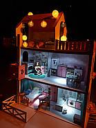 LED-светильник для кукольных домиков NestWood, с липучкой, кнопкой, батарейками, фото 9