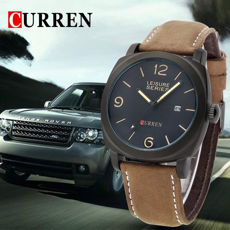 Мужские наручные часы с японским кварцевым механизмом Curren 8158