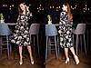 Платье с  женственным  фасоном и цветочным принтом.  Размер:С,М. Цвета разные (2418), фото 6