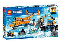 """Конструктор Lele Cities 28021 """"Арктический грузовой самолёт"""", 743 детали"""