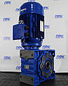 Мотор-редуктор червячный одноступенчатый NMRV 150, фото 2