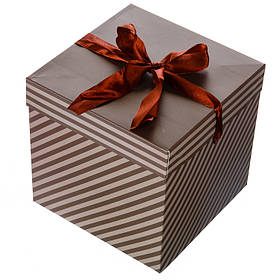 Коробка подарочная Классика 15*15см (0354JH)