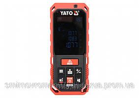 Дальномер лазерный YATO 0.2-60 м 10 режимов