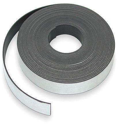 Магнітна стрічка з клейовим шаром, 25.4 мм, 50 см