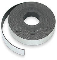 Магнитная лента с клеевым слоем, 50 см x 25.4 мм, толщина 1.5 мм