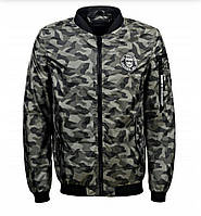 Модная мужская куртка бомбер батал . GLO-STORY