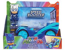 Игровой набор Кэтбой и Кэтмобиль Герои в Масках PJ Masks Catboy Speed Boosters