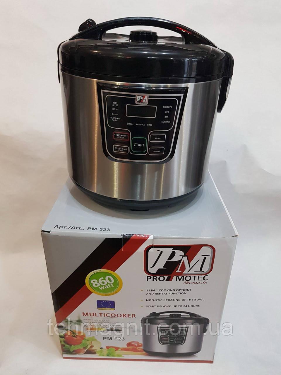Мультиварка Promotec PM523, 11 программ, 4 л, 860W