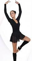 Купальник, трико - юбка шифон для гимнастики